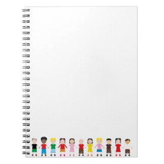 Kinder/Children/Niños Spiral Note Book