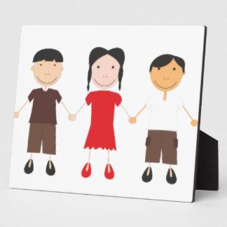 Kinder/Children/Niños Photo Plaques