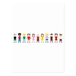 Kinder/Children/Niños Postcard
