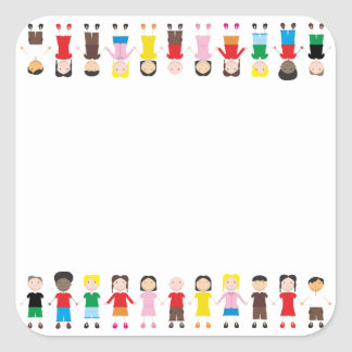 Kinder/Children/Niños Stickers