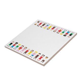 Kinder/Children/Niños Ceramic Tile