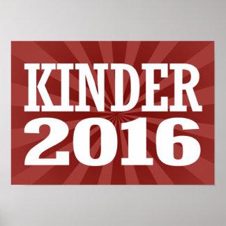 Kinder - Peter Kinder 2016 Poster