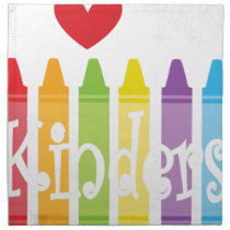 kinder teacher2 cloth napkin