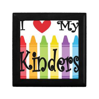 kinder teacher jewelry box