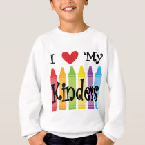 kinder teacher sweatshirt