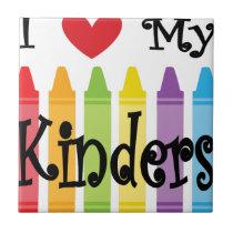 kinder teacher tile