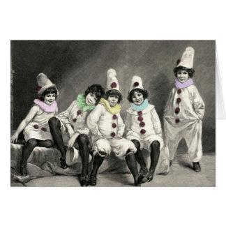 Kindercarneval Children Carnival Costume Vintage Card