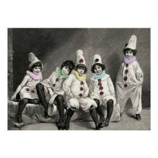 Kindercarneval Children Carnival Costume Vintage Poster