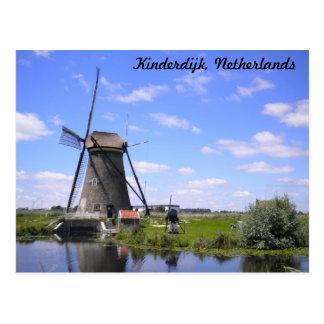 Kinderdijk Holland photo Post Card