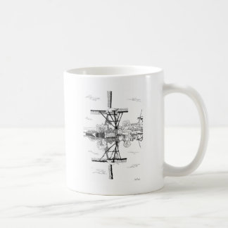 Kinderdijk Windmill Mug
