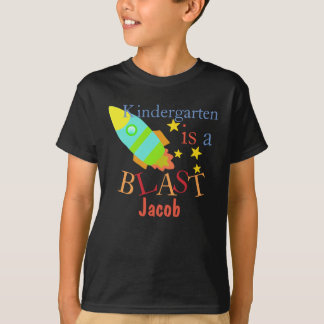 Kindergarden is a Blast Personalized Shirt