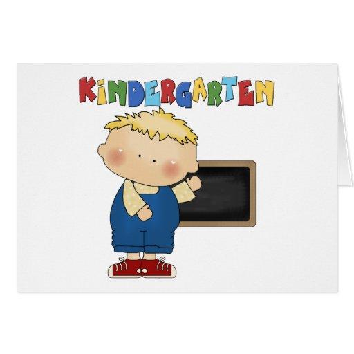 Kindergarten Boy Greeting Card