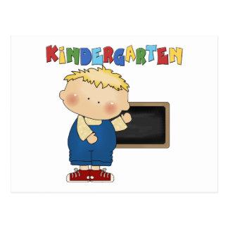 Kindergarten Boy Postcard