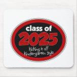 Kindergarten Class of 2025 School Kids Grade Mouse Pad