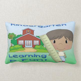 Kindergarten Ethnic Boy Learning is Fun Pillow