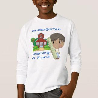 Kindergarten Ethnic Boy Learning is Fun T-Shirt