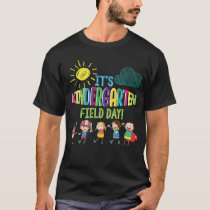 Kindergarten Field Day Teacher Student T-sh T-Shirt