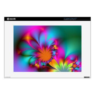 "Kindergarten flower 15"" laptop decal"