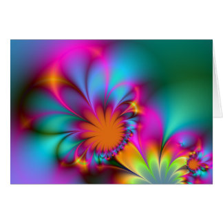 Kindergarten flower - Blank Card