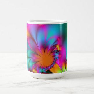 Kindergarten flower coffee mug