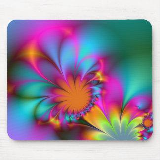 Kindergarten flower mouse pad