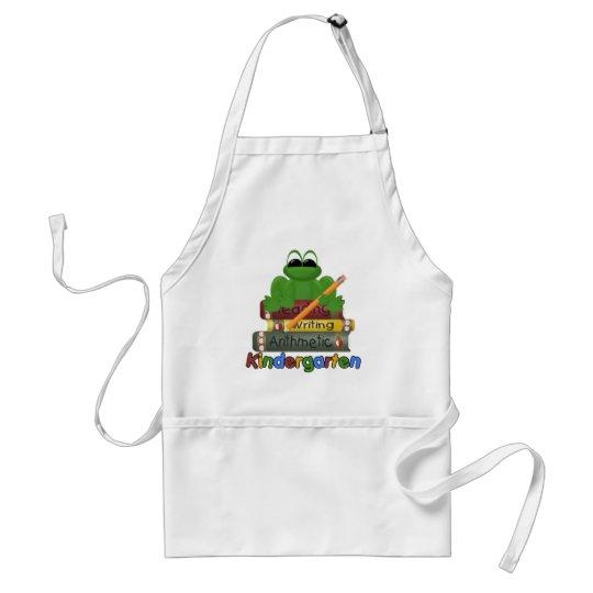 Kindergarten Frog Adult Apron