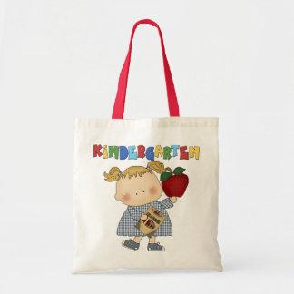 Kindergarten Girl Tote Bags