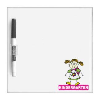 Kindergarten Girl Dry-Erase Board