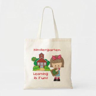 Kindergarten Girl Learning is Fun Bags