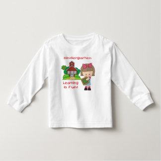 Kindergarten Girl Learning is Fun Toddler T-shirt