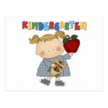 Kindergarten Girl Post Card