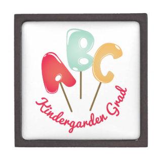 Kindergarten Grad Jewelry Box