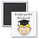 Kindergarten Graduate - Blond Boy Fridge Magnet