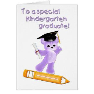 Kindergarten Graduate Card