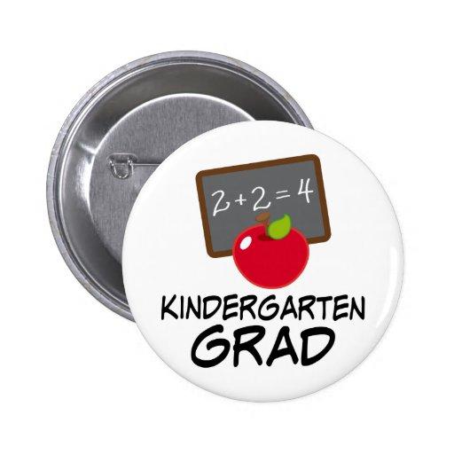 Kindergarten Graduate Gift Pinback Button