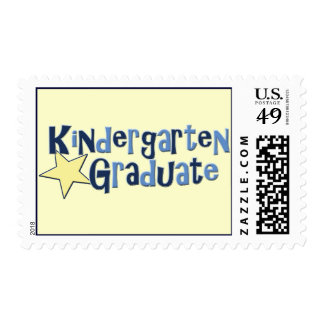 Kindergarten Graduate Stamps