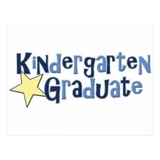 Kindergarten Graduate Postcard