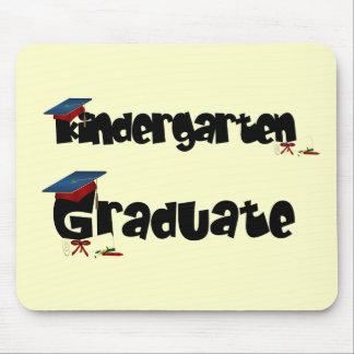 Kindergarten Graduate Tshirts and Gifts Mouse Pad