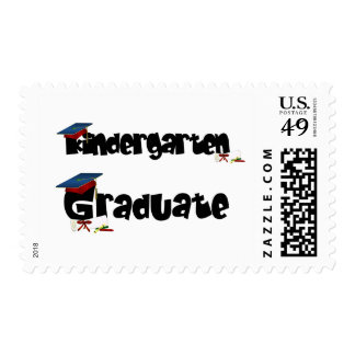 Kindergarten Graduate Tshirts and Gifts Postage Stamp