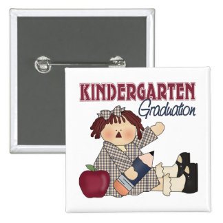 Kindergarten Graduation Gift 2 Inch Square Button