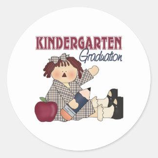 Kindergarten Graduation Gift Classic Round Sticker