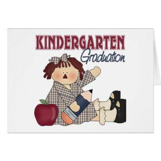 Kindergarten Graduation Gift Greeting Card