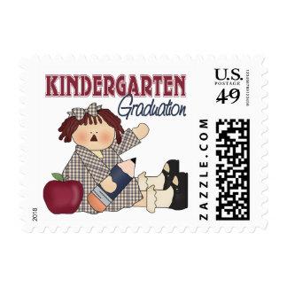 Kindergarten Graduation Gift Postage Stamps