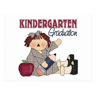 Kindergarten Graduation Gift Postcard