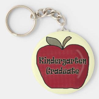 Kindergarten Graduation Gifts Basic Round Button Keychain