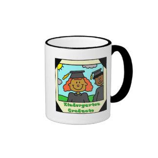 Kindergarten Graduation Gifts Ringer Coffee Mug