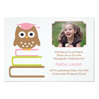 "Kindergarten Graduation Invitation 5"" X 7"" Invitation Card"