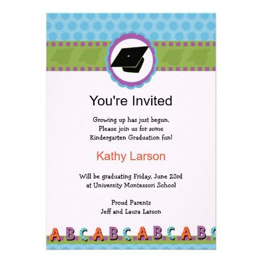 Preschool Graduation Invitations can inspire you to create best invitation template