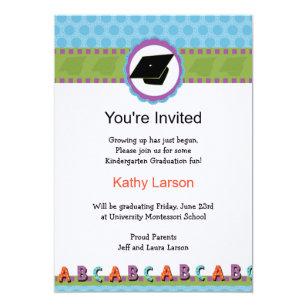Pre K Graduation Invitations Announcements Zazzle