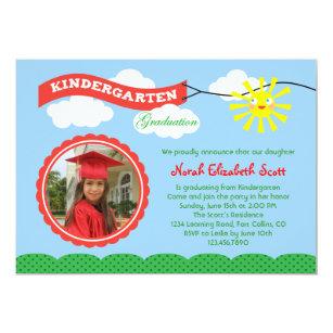 Kindergarten Graduation Photo Invitation  sc 1 st  Zazzle & Kindergarten Graduation Gifts on Zazzle